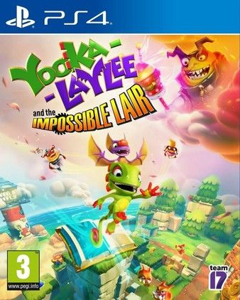 Yooka-Laylee and the Impossible Lair PS4 PKG