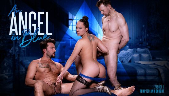 PixAndVideo - Blue Angel - Tempted and Caught